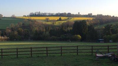 Alveley - panorama (© Graham Maclachlan [CC BY-SA 3.0 (https://creativecommons.org/licenses/by-sa/3.0)] (original photo: https://commons.wikimedia.org/wiki/File:Alveley,_UK_-_panoramio.jpg))