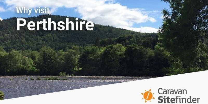Camp in Perthshire - Beautiful local views to visit when camping in Perthshire (© Adam Aaron)