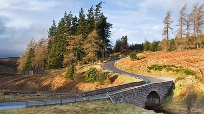 The bridge over Spital Burn on the Banchory-Fettercairn road near the caravan site (© © Copyright Nigel Corby (http://www.geograph.org.uk/profile/14140) and licensed for reuse (http://www.geograph.org.uk/reuse.php?id=1125359)  under this Creative Commons Licence (https://creativecommons.org/licenses/by-sa/2.0/).)
