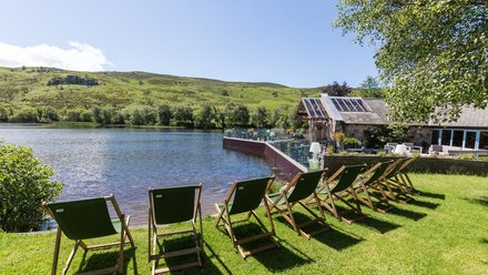 Snowdonia, North Wales - Brynteg Country & Leisure Retreat with lakeside views