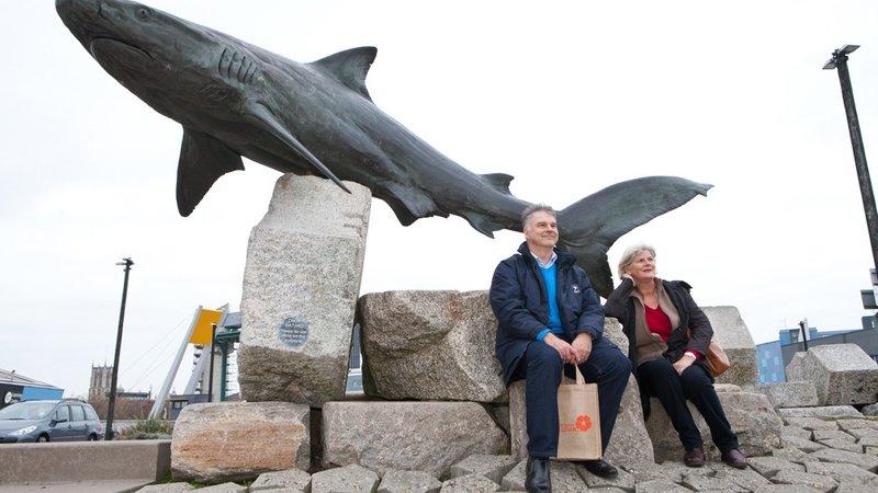 Big fish in Hull