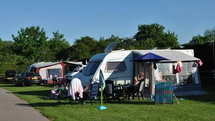 Stay at Mill Farm on your caravan holidays in Somerset - The campsite is near Bridgwater and has lots of great, on site facilities (© Mill Farm Caravan and Camping Park)