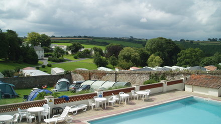 Smytham Manor swimming pool