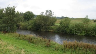 River Wear north of Batts Terrace near the caravan site (© © Copyright Alex McGregor (https://www.geograph.org.uk/profile/45095) and licensed for reuse (http://www.geograph.org.uk/reuse.php?id=2056707) under this Creative Commons Licence (https://creativecommons.org/licenses/by-sa/2.0/).)