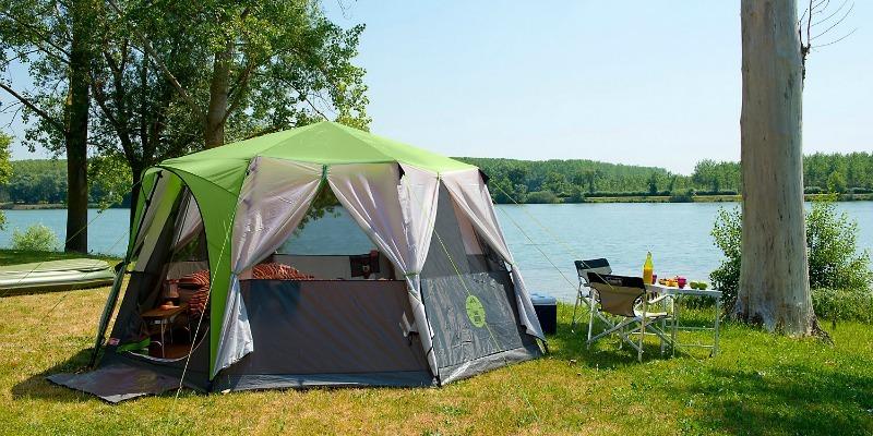 Best family tents - Coleman Cortes Octagon 8 exterior