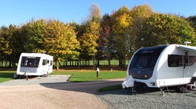 On the park (© Hereford Camping and Caravanning Club Site)