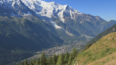 Chamonix valley from la Flégère (© By Ximonic, Simo Räsänen (Own work) [GFDL (http://www.gnu.org/copyleft/fdl.html) or CC BY-SA 3.0 (http://creativecommons.org/licenses/by-sa/3.0)], via Wikimedia Commons (GFDL copy: https://en.wikipedia.org/wiki/GNU_Free_Documentation_License, original photo: https://commons.wikimedia.org/wiki/File:Chamonix_valley_from_la_Fl%C3%A9g%C3%A8re,2010_07.JPG))