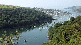 Picture of Polruan Holidays, Cornwall