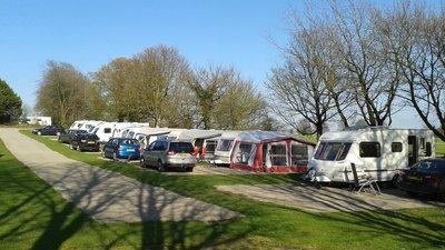 Caravan pitches