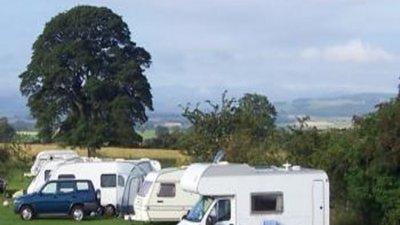 Picture of Cross Fell Caravan Park, Cumbria, North of England