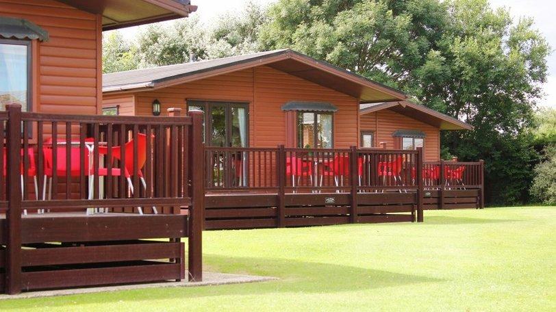 Seacroft Holiday Estate log cabins, Mablethorpe