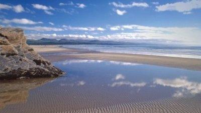 Beautiful beach nearby
