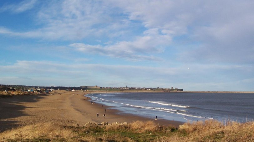 South Shields Beach in Winter (© By Boffy at English Wikipedia [Public domain], via Wikimedia Commons)