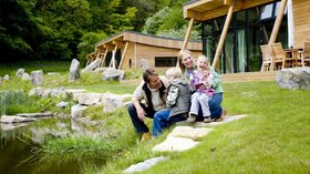 Luxury self-catering holidays in Yorkshire - Family holidays at Yorkshire Dales Eco-Lodges