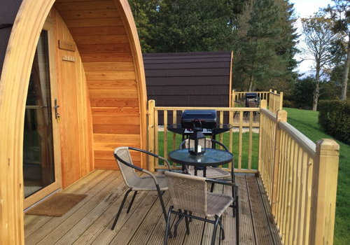 Photo of Camping pod: Glamping Pod with Hot Tub
