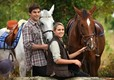 2 Teenagers with 2 Horses