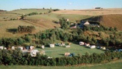 Picture of landscape surrounding Hollingworth Lake Caravan Park - Countryside around Hollingworth Lake Caravan Park