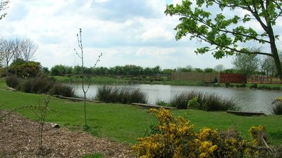 Fishing Pond near Ulrome (© JThomas/Fishing Pond near Ulrome (original photo: https://commons.wikimedia.org/wiki/File:Fishing_Pond_near_Ulrome_-_geograph.org.uk_-_1281608.jpg))
