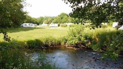 Photo of the caravan park
