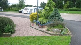 On the site - Tourers at Milestone Caravan Park
