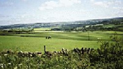 Picture of countryside around Grange Caravan Club Site - Photograph of countryside surrounding Durham Grange Caravan Club Site, Durham