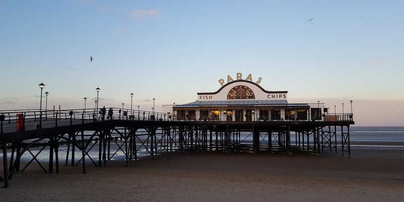 Visit Caravan Parks in Lincolnshire for Cleethorpes - Cleethorpes Pier visitable when taking a holiday in Caravan parks in Lincolnshire (© Photo by henry perks on Unsplash)
