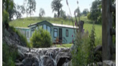 On the site - Static caravans and the landscape surrounding the Lake Vyrnwy Holiday Home Park