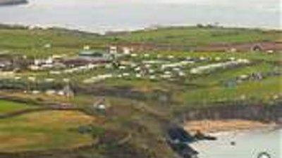 Picture of Pencarnan Farm Caravan Park, Pembrokeshire, Wales - Photo of the park from a bit of distance