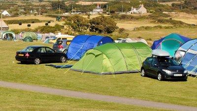 Camping field - Main camping field