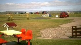 Park area on the caravan site