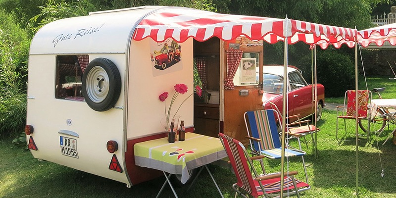 Best books on caravanning - Retro caravan