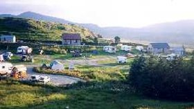 Wonderful distant photography of the caravan park