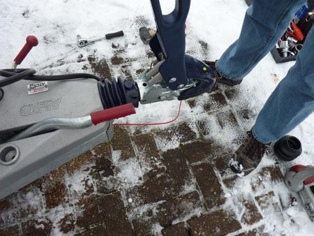 Caravanning In Snow