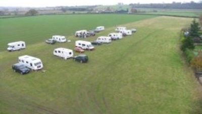 Picture of Meadow Furlong, Warwickshire, Central South England - Tourers at Meadow Furlong