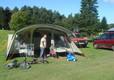 Campsite in Mid Wales, Woodlands Caravan Park, Woodlands Devil's Bridge
