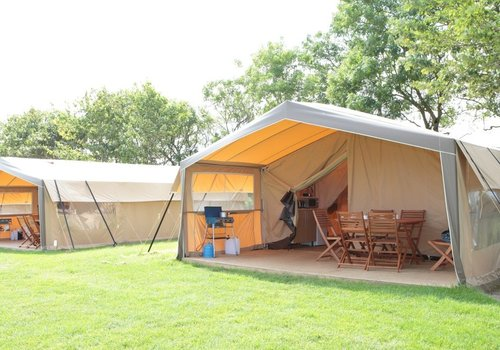 Photo of Camping pod: Pet-Friendly Safari Tent with En suite Facilities