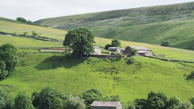 East Stonesdale, Keld, North Yorkshire close to the campsite