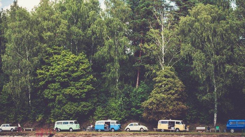 Photo of a caravan park