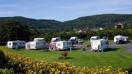 Holidays in Wales - Bron Derw Touring Caravan Park, Snowdonia