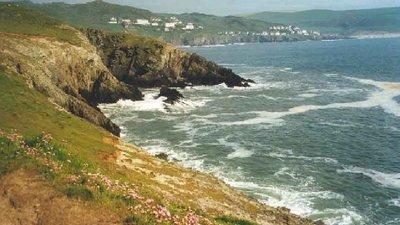 Coastline nearby