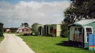 Picture of Yonder Green Caravan Park, Cornwall, South West England - Caravans at the park
