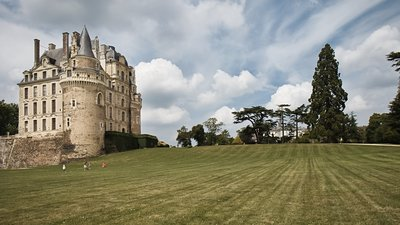 Attraction nearby - Chateau de Brissac (© By Targut (Own work) [CC BY-SA 3.0 (http://creativecommons.org/licenses/by-sa/3.0)], via Wikimedia Commons (original photo: https://commons.wikimedia.org/wiki/File:Chateau_de_Brissac.jpg))
