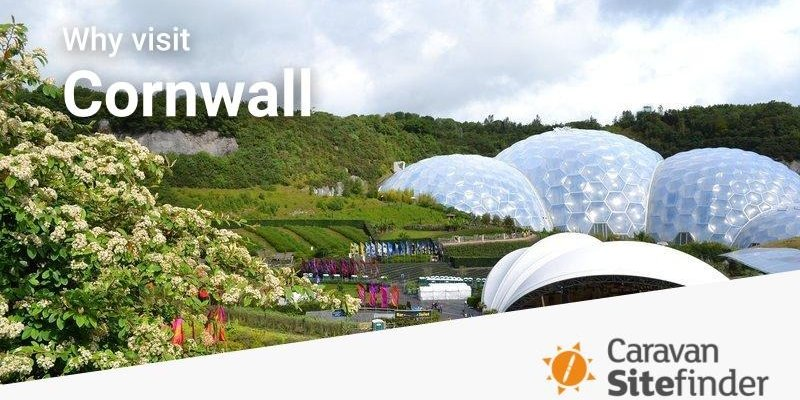 Reasons to camp in Cornwall - Eden Park in Cornwall (© Image by Penbroke from Pixabay)