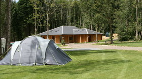 Discover Whitefield Forest Touring Park with Caravan Sitefinder - One of the top campsites in Hampshire is Whitefield Forest Touring Park on the Isle of Wight – book today with Caravan Sitefinder (© Whitefield Forest Touring Park)