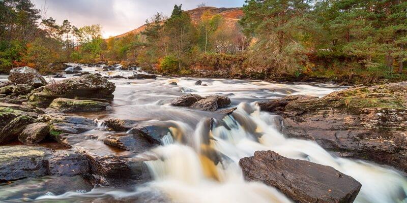 The Falls of Dochart - <i>The Falls of Dochart</i>