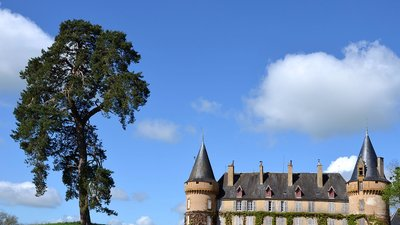 Chateau de  Villemolin (© By Pline (Own work) [CC BY-SA 3.0 (http://creativecommons.org/licenses/by-sa/3.0)], via Wikimedia Commons (original picture: https://upload.wikimedia.org/wikipedia/commons/0/07/Chateau-de-Villemolin-0484.jpg))