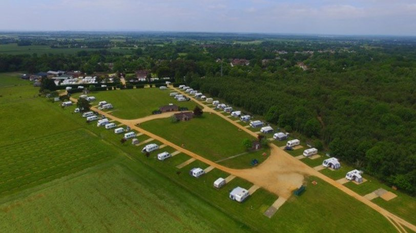 Holidays in the New Forest National Park - Harrow Wood Farm Caravan Park