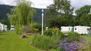 Caravan park in Snowdonia - Bodnant Caravan Park, Conwy