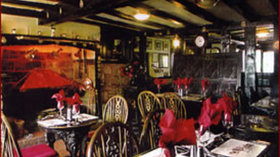 Halfway House Inn  - The inside of our 16th Century Coaching Inn, adjacant to the Caravan Park.