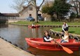 Enjoy the boating lake at Mill Farm Caravan and Camping Park